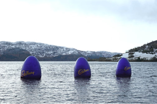 Brand activation: Cadbury's Easter Egg Campaign