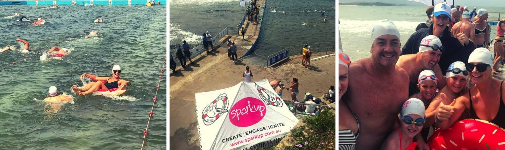 Head Above Water Swimathon mens mental health fundraiser